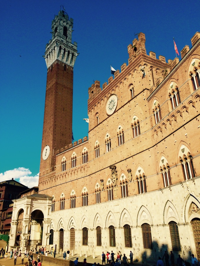 Siena Square and Bell Tower