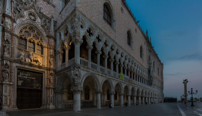 Doge's Palace just before dawn