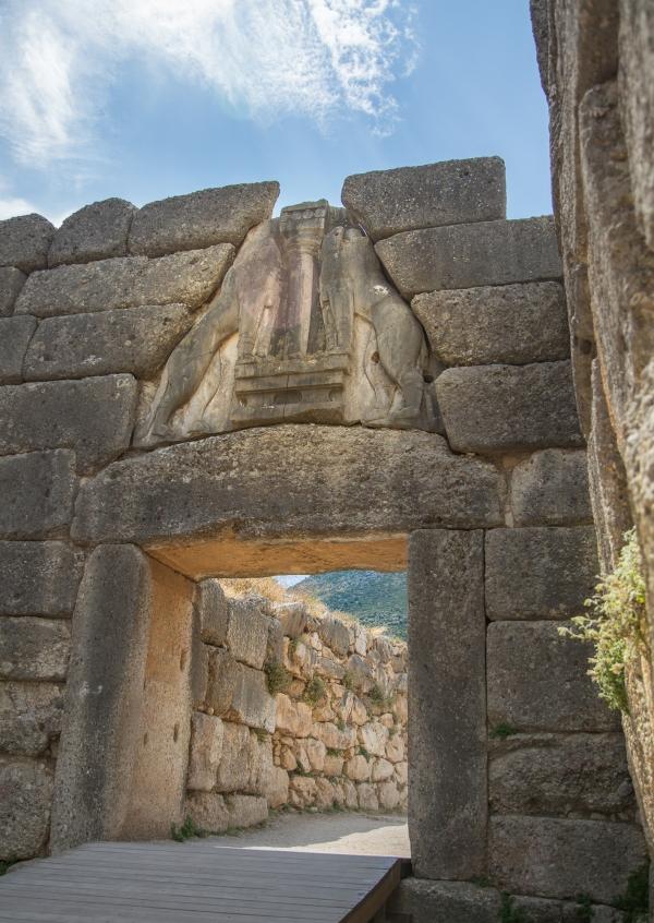Mycenea, Agamemnon's Palace