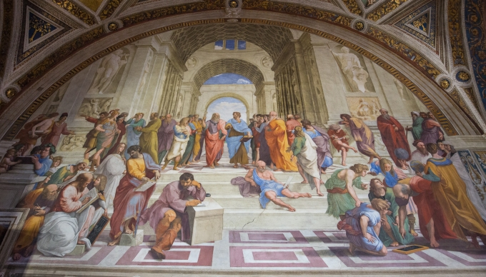 Raphael Rooms, Decision Making in Ancient Greece