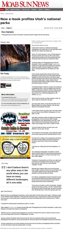 Moab Sun Review