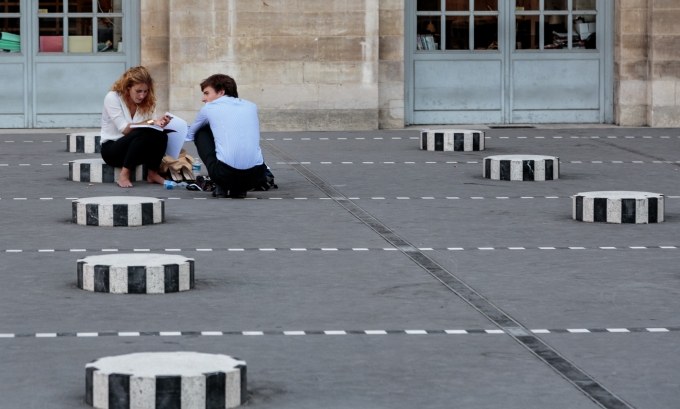 Palais Royal Sculpture