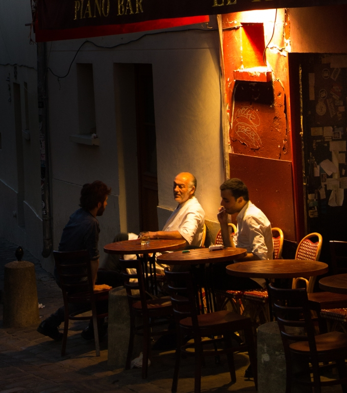 After the Tourists Have Gone, Montmartre
