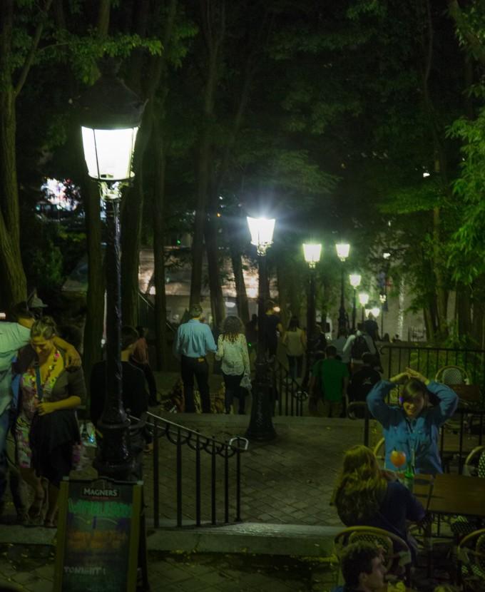 Montmartre Scene
