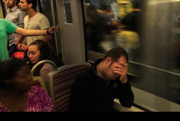 Subway Trains - f4, 1/8 sec