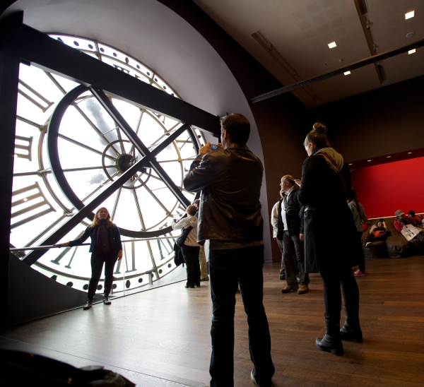 The clock view, D'Orsay Museum