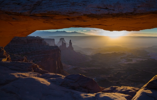 Mesa Arch Sunrise, Canyonlands