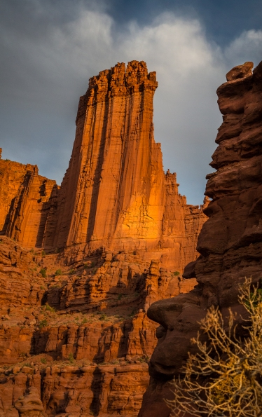 Fisher Towers, Sunset