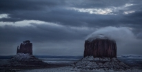After the Snowfall, Monument Valley