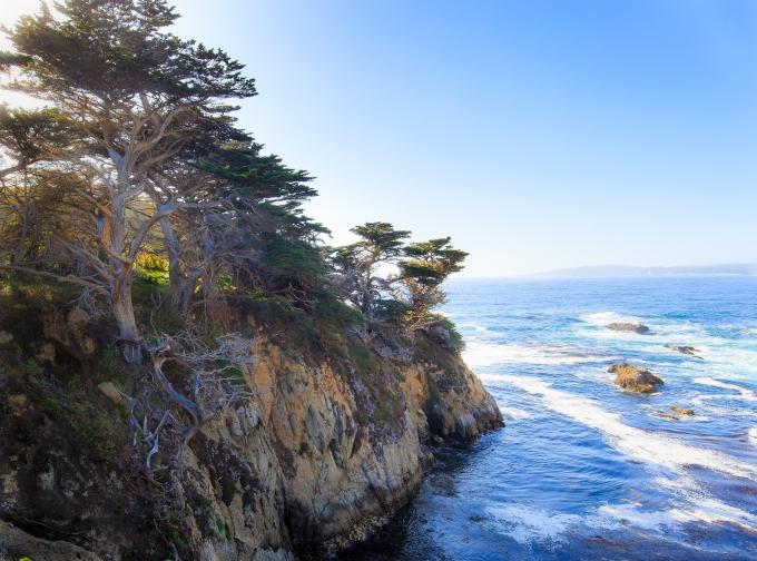 Evening, Point Lobos, Cypress Cove