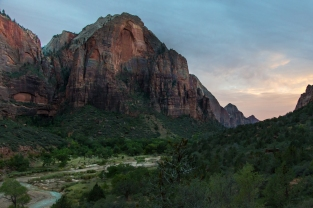 Zion Valley, Looking SW