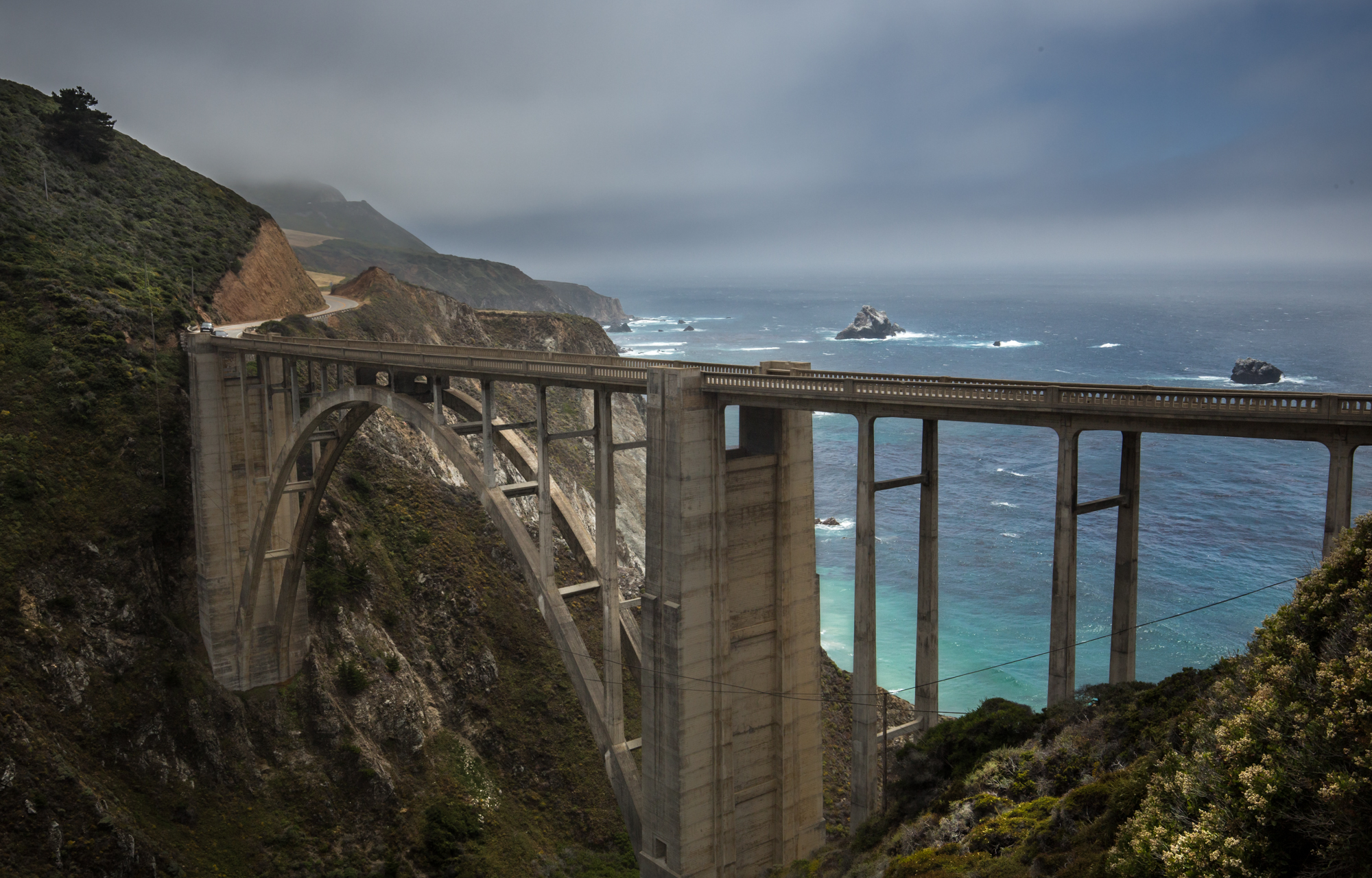 Bixby Bridge and Old Coast Road