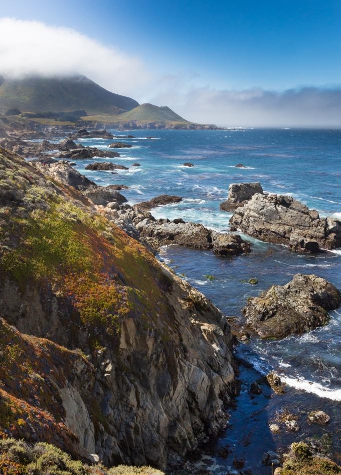 Monterey Peninsula, Below Garrapata