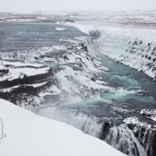 Gullfoss, lower view point