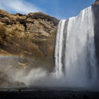 Skogafoss waterfall, South Coast