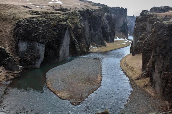 Fjaðrárgljúfur, part of Katla Geopark