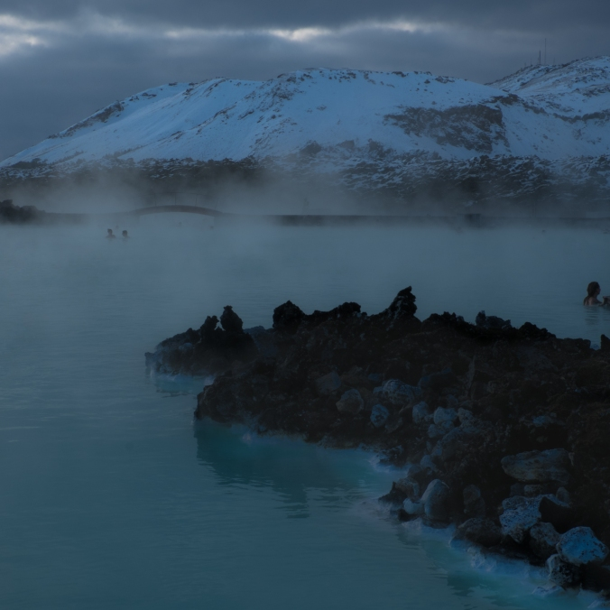 Blue Lagoon in March