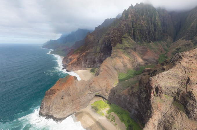 NaPali Coast looking east