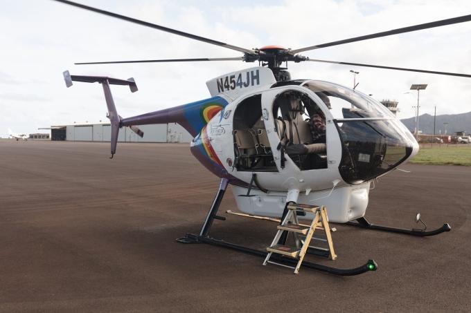 Kauia doors off tour, Jack Harter Helecopters