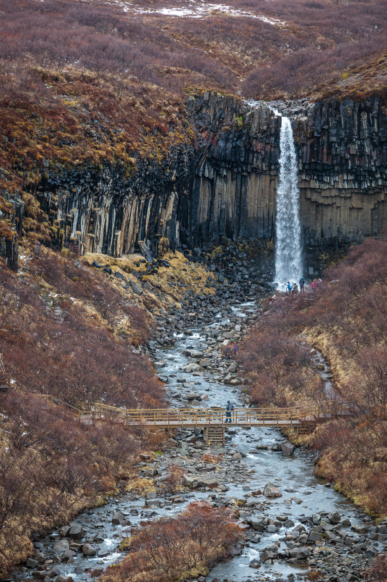 Svartifoss waterfall, Skaftafell National Park