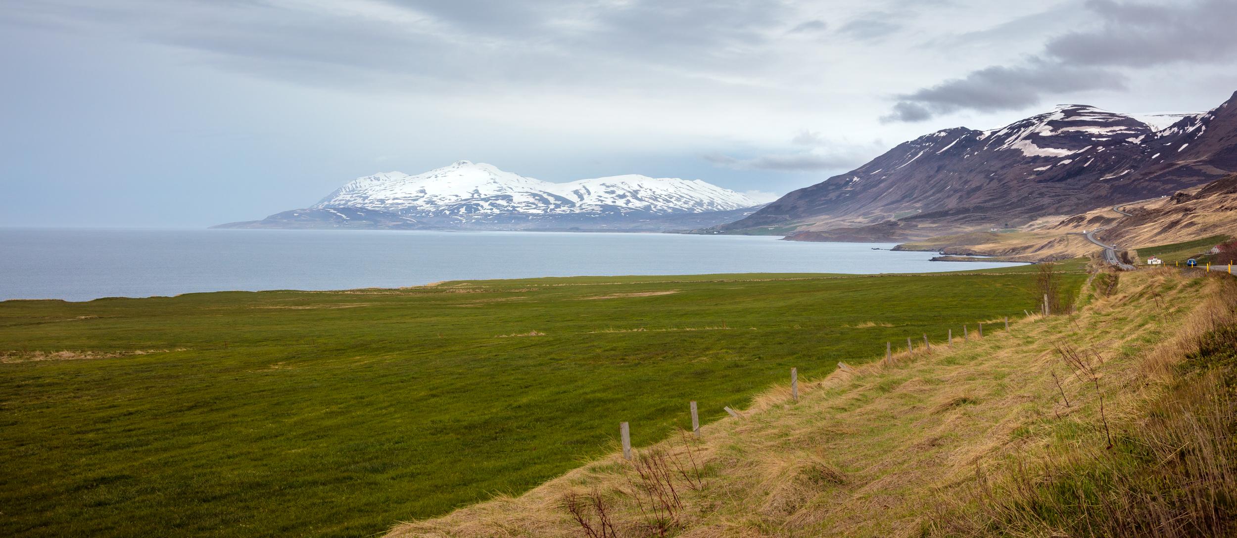 Eyjafjordur pull-off